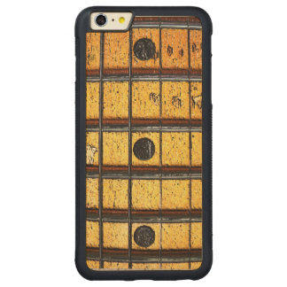 Vintage Guitar Frets Carved Maple iPhone 6 Plus Bumper Case