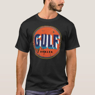 Vintage Gulf Dealer sign T-Shirt