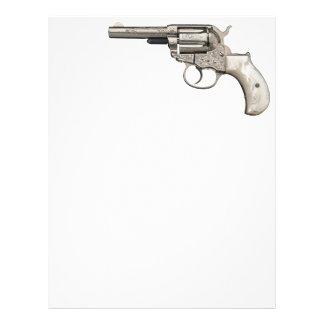 Vintage Gun Customized Letterhead