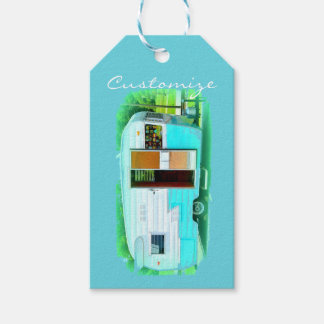 Vintage gypsy trailer Thunder_Cove On caravan Gift Tags
