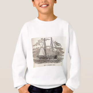 Vintage Halibut Schooner Sweatshirt