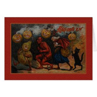 VINTAGE HALLOWEEN CARD, Raphael Tuck 1909 Card