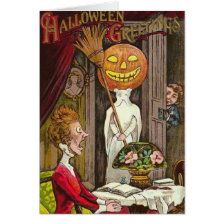 Vintage Halloween - Don't Scare Me!, Card