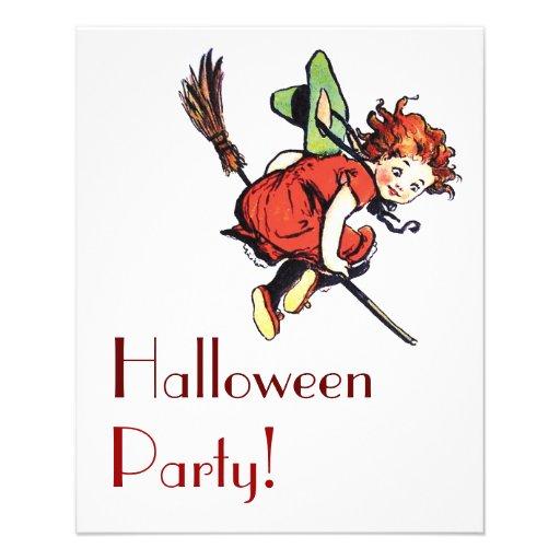 Vintage Halloween Flyer Design