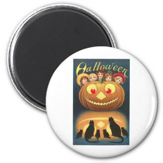 Vintage Halloween Greeting Cards Classic Posters Refrigerator Magnet