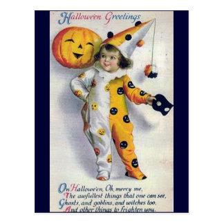 Vintage Halloween Greetings Postcards