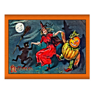 Vintage Halloween Postcard, Raphael Tuck c. 1900 Postcard