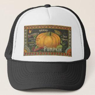 Vintage Halloween Pumpkin Hat