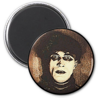 VIntage Halloween Spooky Ghoul 2 Inch Round Magnet