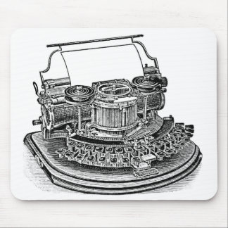 Vintage Hammond No. 2 Typewriter Mouse Pad