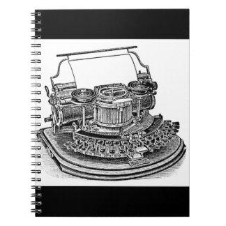 Vintage Hammond No. 2 Typewriter Notebook