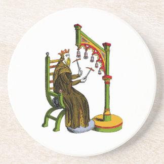Vintage Hand Bells Coaster