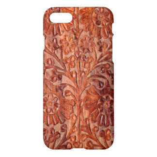 Vintage Hand Carved Wood iPhone 7 Case