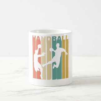 Vintage Handball Graphic Coffee Mug