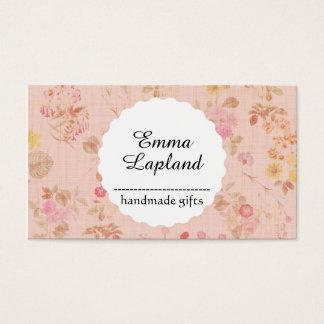 Vintage handmade gift business card