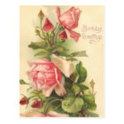 Vintage Happy Birthday Postcard