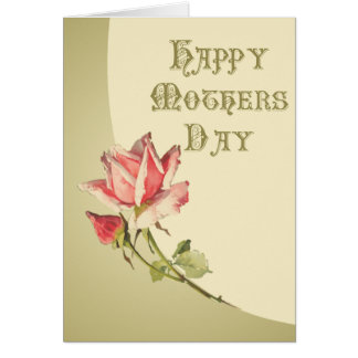 Vintage Happy Mother's Day Card