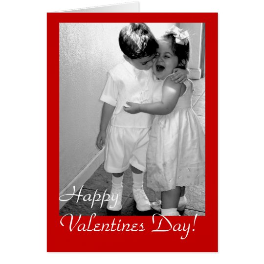 Vintage Happy Valentine Day ! - Customized Card