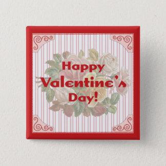 Vintage Happy Valentine's Day Pin
