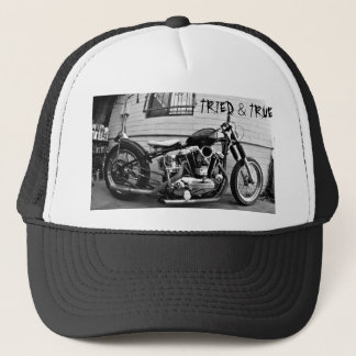 Vintage Harley Ironhead Chopper Hat
