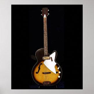 Vintage Harmony H22 Bass Print