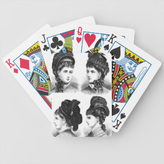 Vintage Hats Bicycle Playing Cards