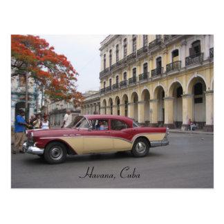vintage havana postcard