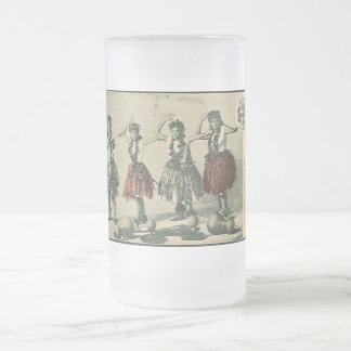 Vintage Hawaii Hula Hula Dancers Mugs