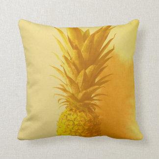 Vintage Hawaii Throw Pillow