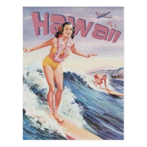 Vintage Hawaii, USA - Post Card