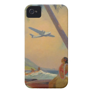 Vintage Hawaiian Travel - Hawaii Girl Dancer Case-Mate iPhone 4 Case