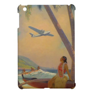 Vintage Hawaiian Travel - Hawaii Girl Dancer iPad Mini Case