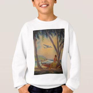 Vintage Hawaiian Travel - Hawaii Girl Dancer Sweatshirt