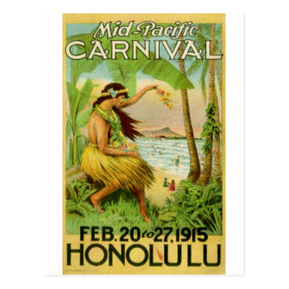 Vintage Hawaiian Travel Postcard