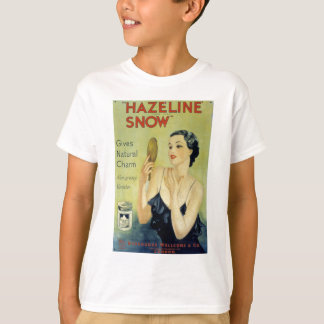 Vintage Hazeline Snow Makeup Lotion T-Shirt
