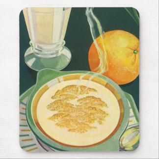 Vintage Health Foods, Beverages, Healthy Breakfast Mousepads