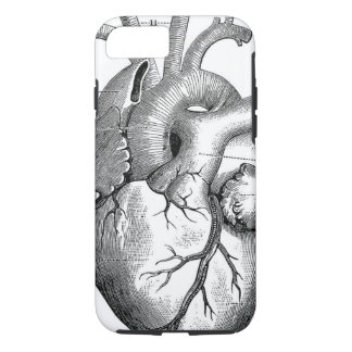 Vintage Heart Anatomy | Customizable iPhone 7 Case