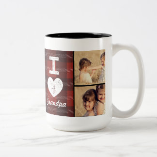 Vintage Heart Custom Photo Mug