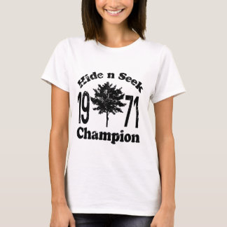 Vintage Hide and Seek Champion 1971 Shirt