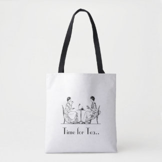Vintage High Tea All-Over-Print Tote Bag