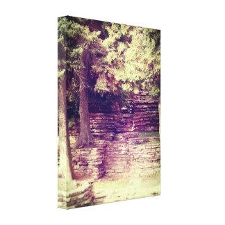 Vintage Hillside Stoneworks Canvas Prints
