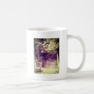 Vintage Hillside Stoneworks Classic White Coffee Mug