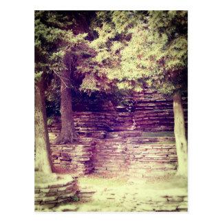 Vintage Hillside Stoneworks Postcard