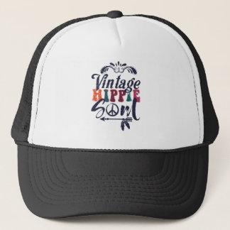 Vintage Hippie Soul Trucker Hat