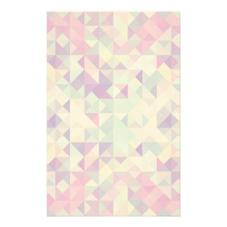 Vintage Hipsters Geometric Pattern. Stationery Design