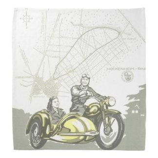 Vintage Hockenheimring Motorbike Ad Bandana