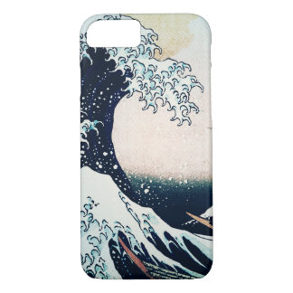 Vintage Hokusai Great Wave iphone 7 case