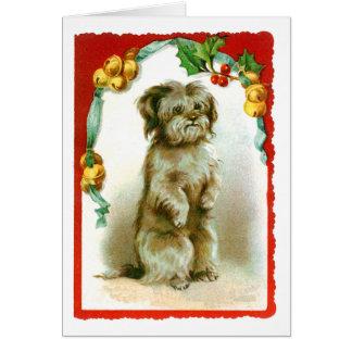 Vintage Holidays Greeting Card