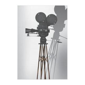 Vintage Hollywood Camera Acrylic Print