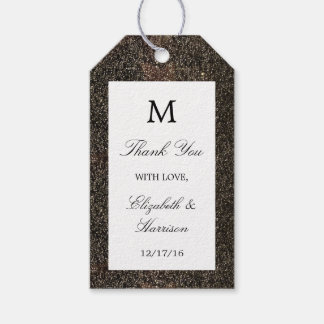 Vintage Hollywood Glam Wedding Gift Tags